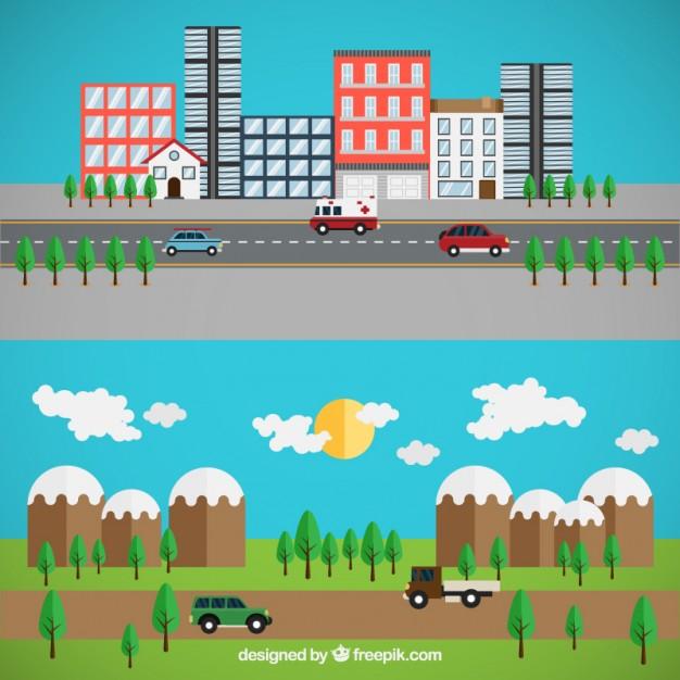 ¿Cuál Es La Diferencia Entre Rural Y Urbano? Bien Explicado