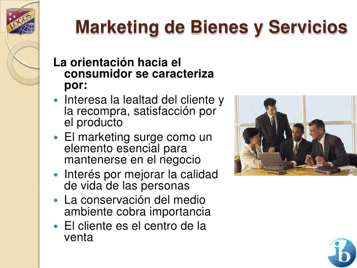 marketing de servicio y bienes