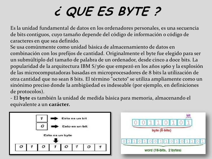 diferencia entre bit y byte wikipedia