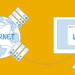 web e internet es lo mismo