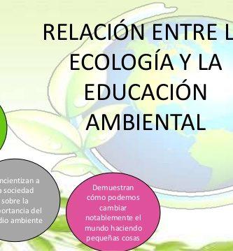 semejanzas entre ecologia y educacion ambiental