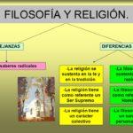 Diferencias entrefilosofía y Religión