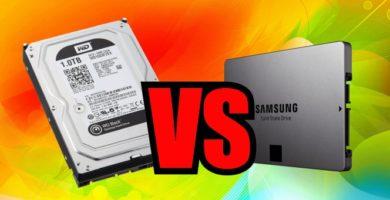 Disco Duro HDD y Disco Duro Sólido SSD