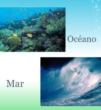 mar y oceano es lo mismo