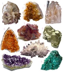 diferencia entre rocas y minerales para niños
