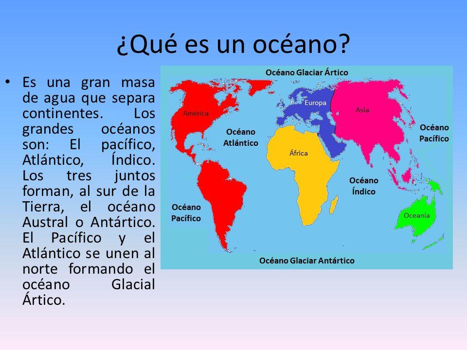 10 diferencias entre mares y oceanos