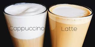 Latte y Capuchino