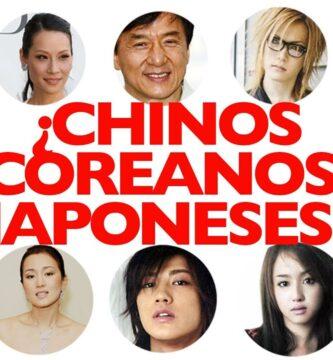 Japoneses y Chinos