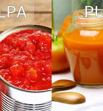 Pulpa y Puré de Tomate