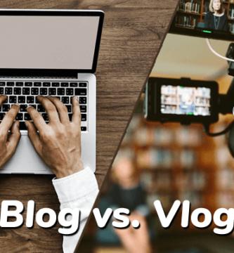 Blog y Vlog