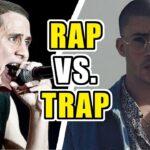 ¿Cuál es la Diferencia entre Rap y Trap? Te lo explicamos todo